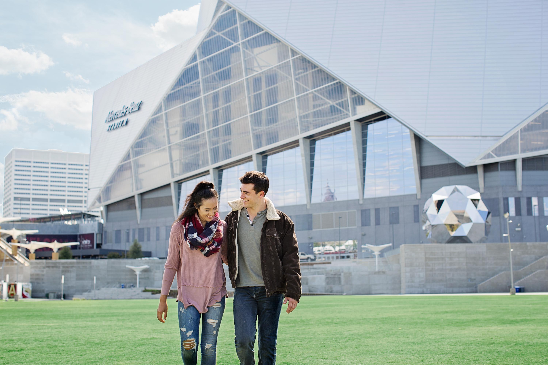 Mercedes Benz Midtown >> Mercedes Benz Stadium Atlanta Seven88 West Midtown Atlanta